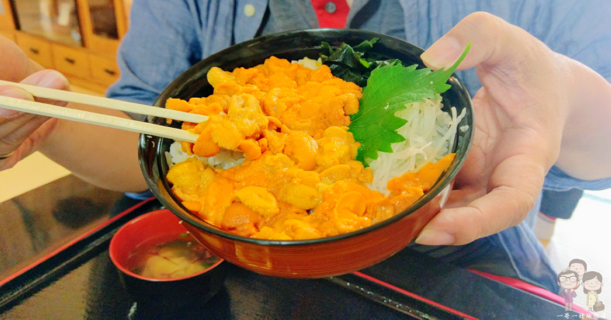 北海道積丹|漁師の店 中村屋,積丹必吃的美味,滿滿鮮甜濃郁好滋味的赤海膽丼