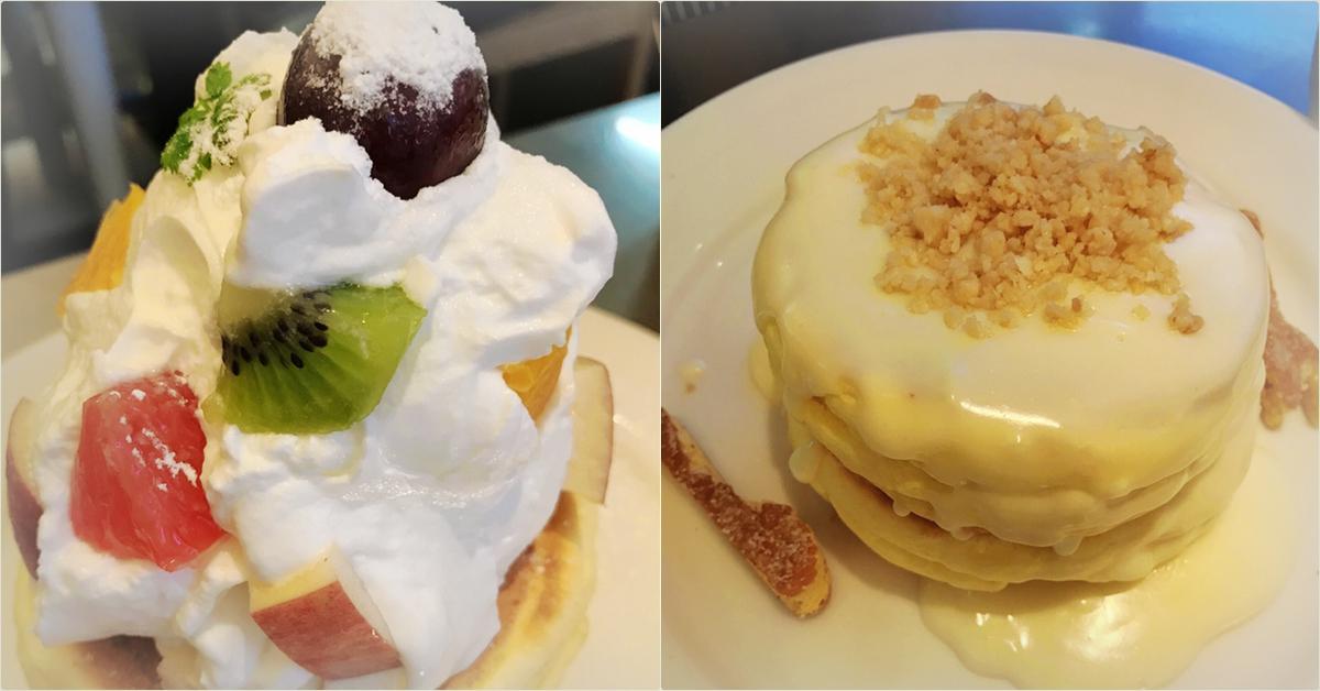東京涉谷吃甜點|滿滿幸福的好滋味~彩虹鬆餅 Rainbow Pancake 原宿本店