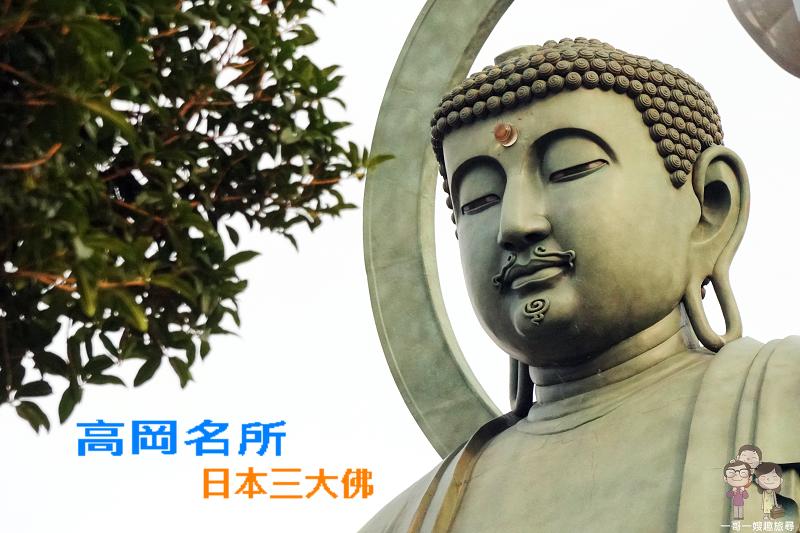 富山景點|日本一的銅鑄佛像!日本三大佛之高岡大佛我是美男子
