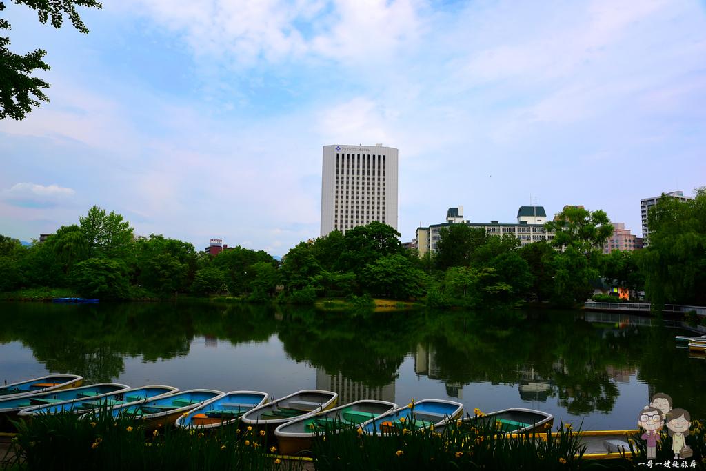 北海道自由行|札幌 中島公園!新綠.秋楓,四季皆迷人