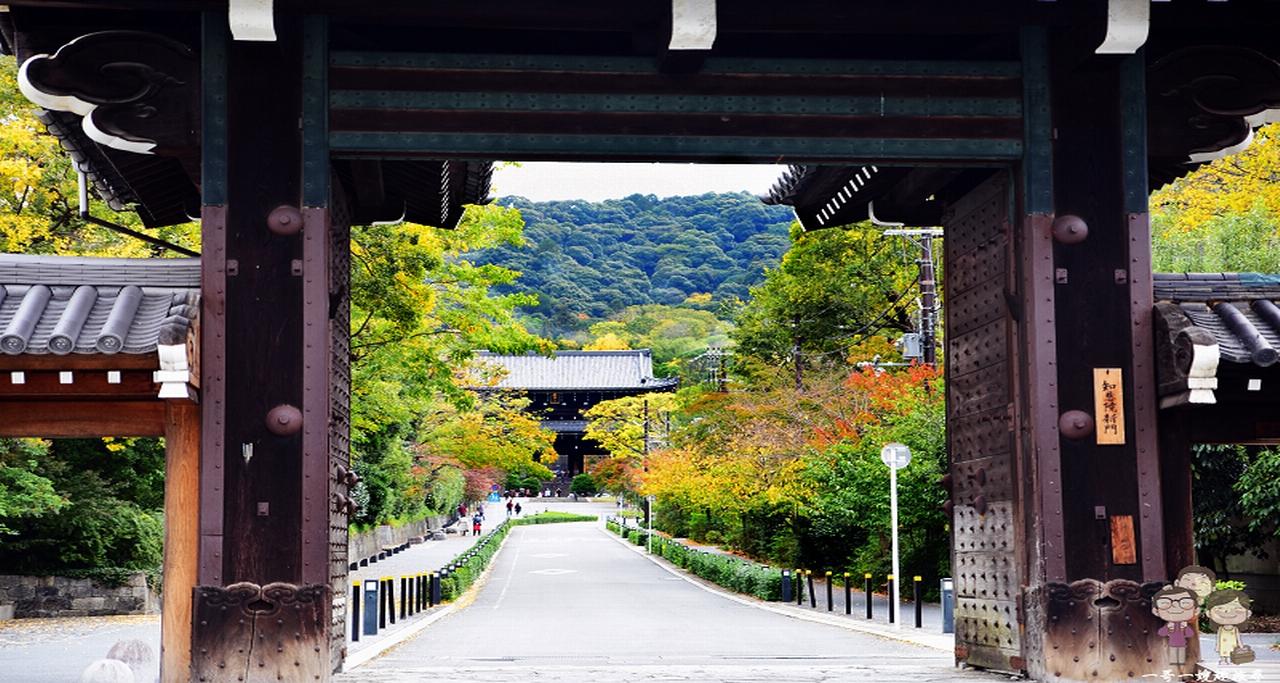 京都景點|擁有七大不思議的知恩院,壯闊的山門讓人感到震撼