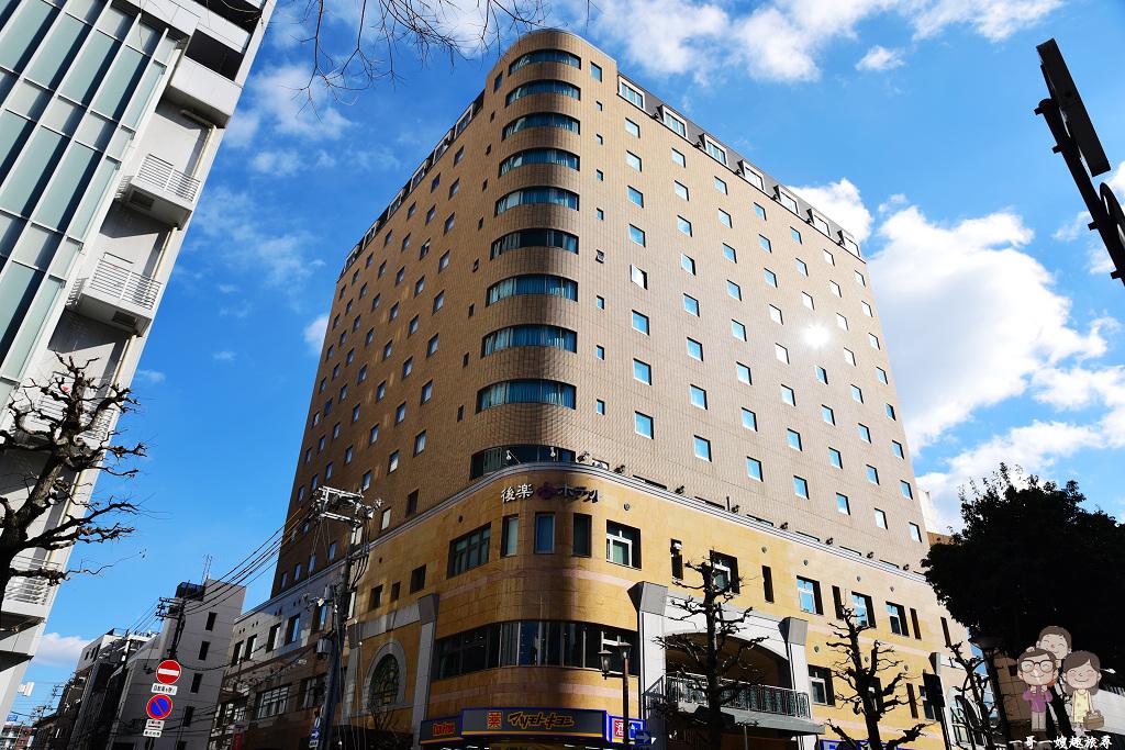 岡山住宿|岡山車站走路5分鐘,樸實簡約中規中矩的後樂酒店