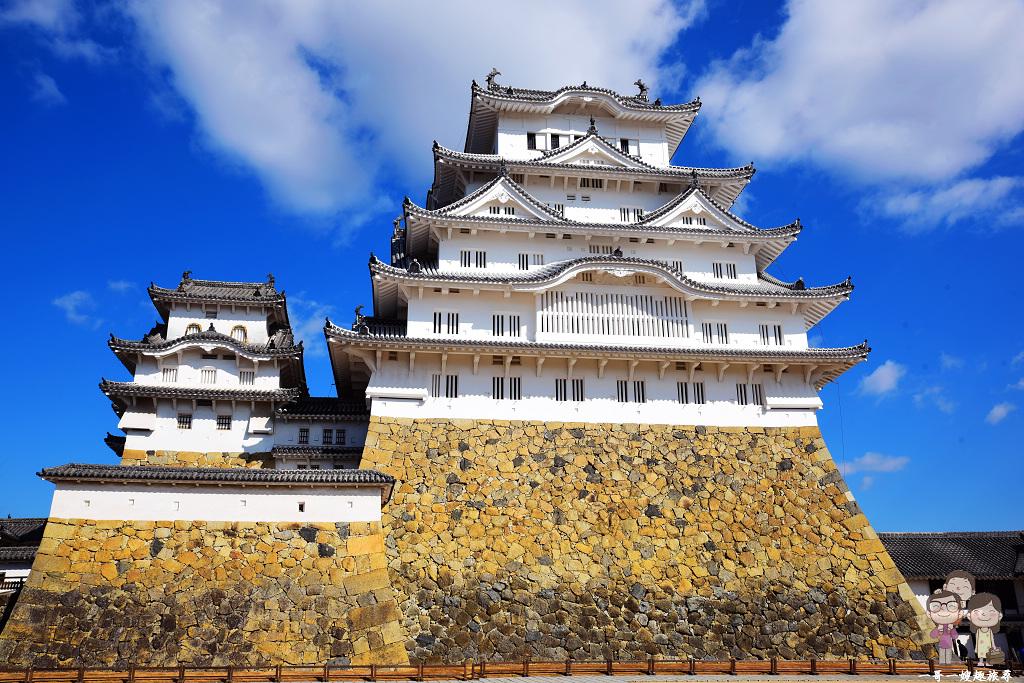 日本第一名城~姬路城|藍天下的白鷺城,真的是美不勝收!(內含交通資訊與天守全導覽)