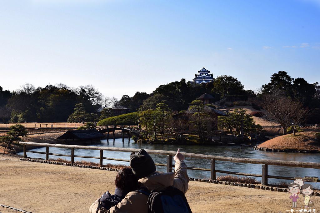 岡山自由行必遊景點|日本三大名園之岡山後樂園