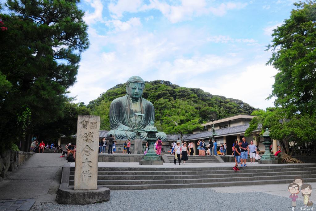 鎌倉景點|日本三大名佛之第二大的銅鑄佛像~鎌倉大佛