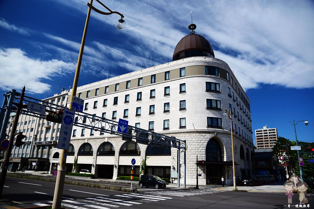北海道自駕遊|小樽三人房住宿~河景第一排!小樽諾德酒店(Hotel Nord Otaru)