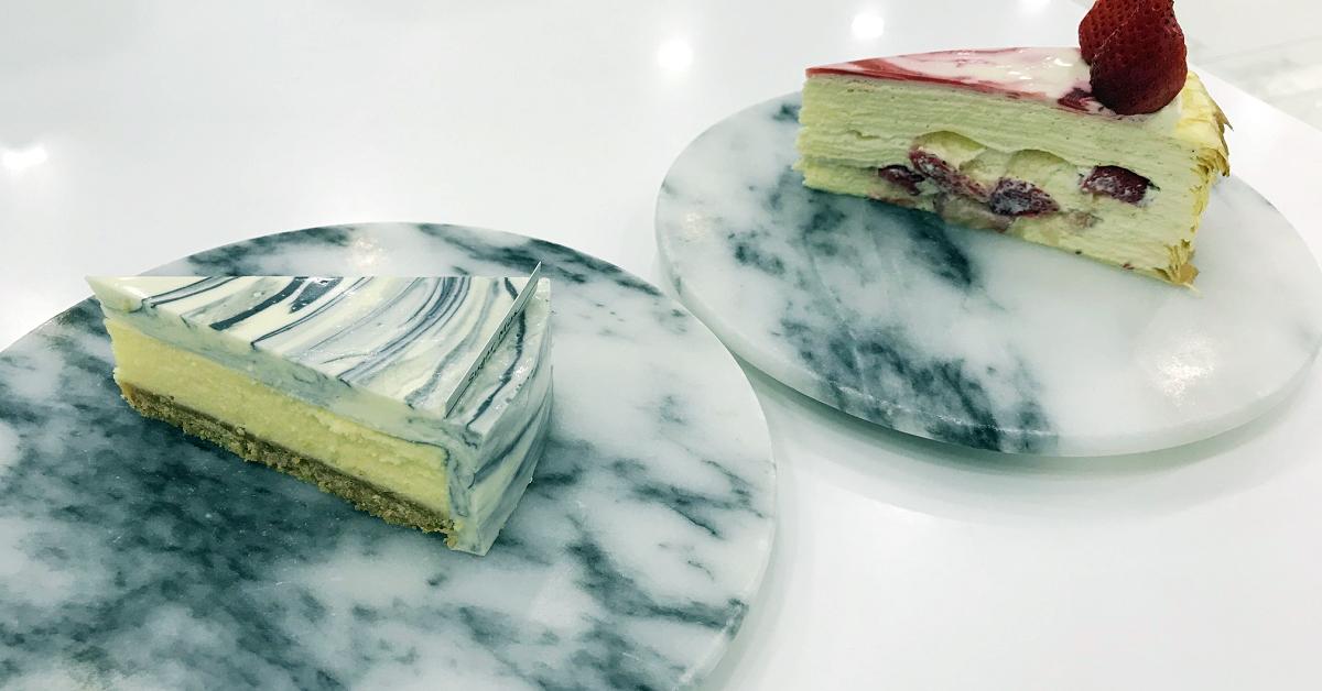 台北吃蛋糕|Sugar Miss (捷運國父紀念館站),唯美系甜點~好看又好吃的大理石乳酪蛋糕+季節限定的草莓千層蛋糕